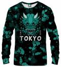 Tokyo Oni Teal Sweatshirt
