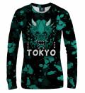 Tokyo Oni Teal women sweatshirt