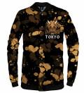 Tokyo Oni Yellow baseball jacket