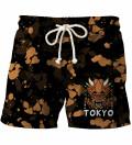 Tokyo Oni Yellow shorts