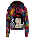 Cropped Hoodie Snow White
