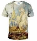 The battle of Trafalgar T-shirt, by William Turner