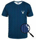 Fk you navy T-shirt