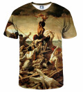 The raft of the Medusa T-shirt, by Théodore'a Géricault