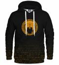 Bluza z kapturem Gold Anonymous