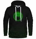 Bluza z kapturem Green Anonymous