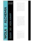 Wola i Alchemia. Glosy do Mein Kampf., Stanisław Butowski