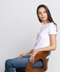 Crew-neck t-shirt, white