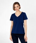 V-neck t-shirt, navy