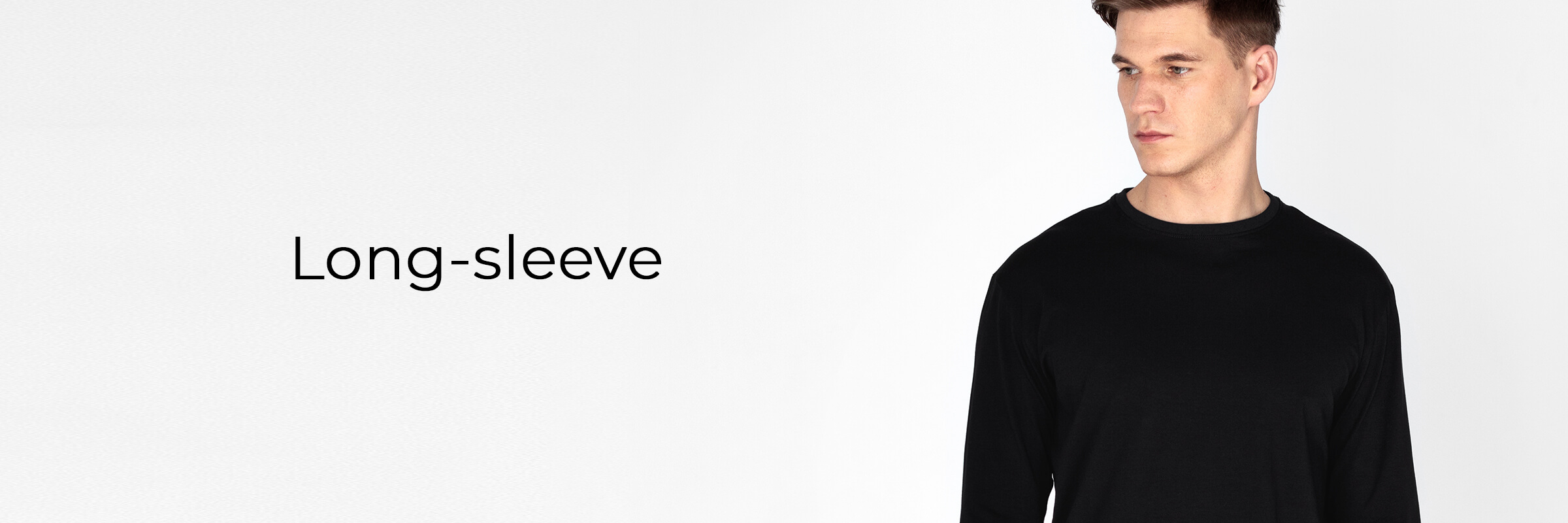 long-sleeve men's collection baner