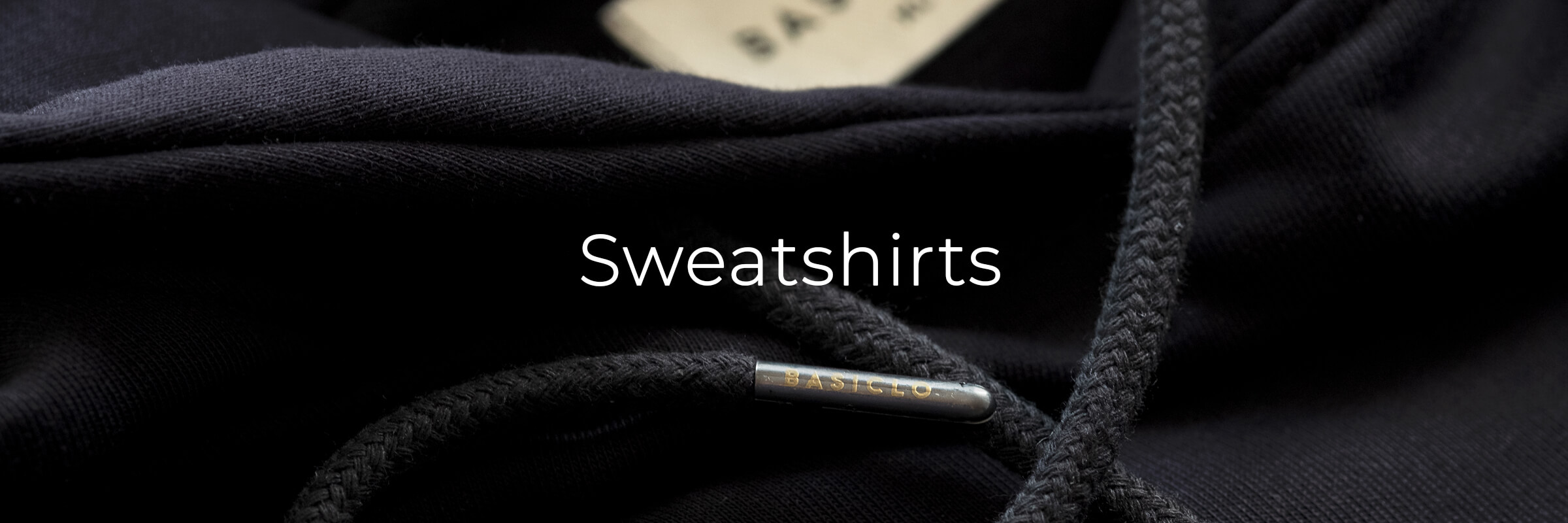 Sweatshirts men's collection banner
