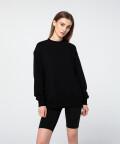 Bluza oversize, czarna