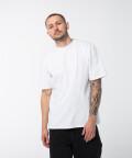 T-shirt oversize, biały