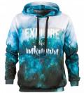 Bluza z nadrukiem Explore