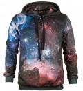 Purple Galaxy hættetrøje