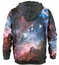 Printed hoodie Purple Galaxy