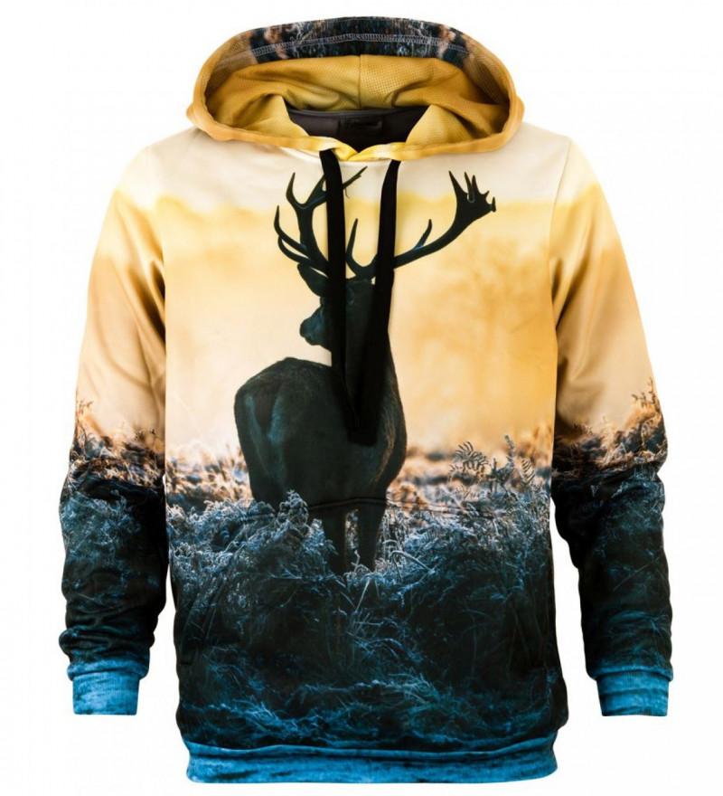 Bluse med hætte - Deer