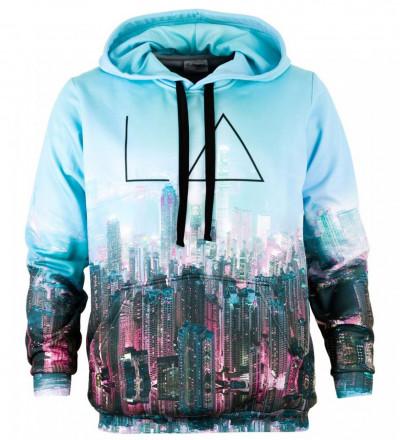 Printed hoodie New Vision