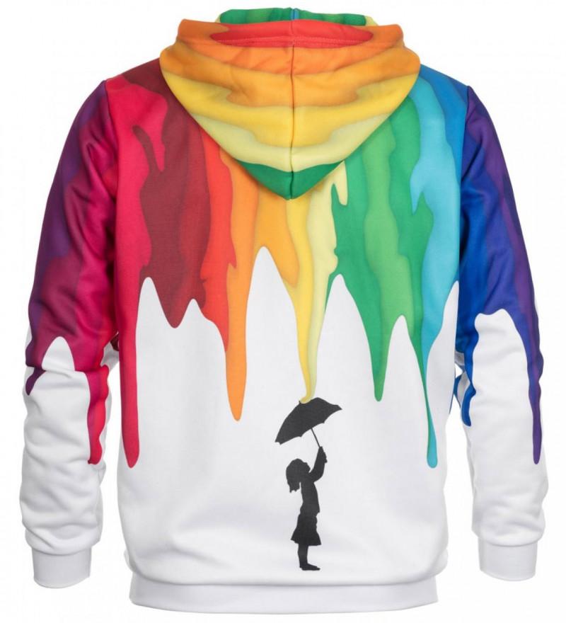 Bluse med hætte - Rain Girl