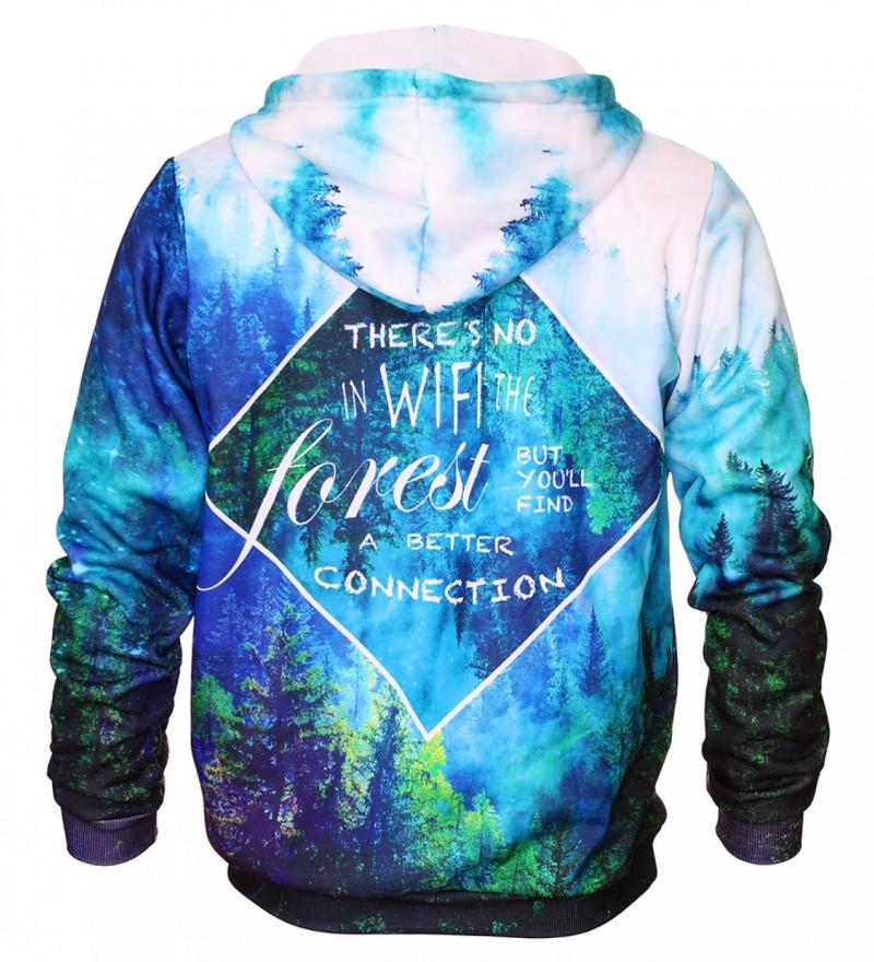 Bluza z nadrukiem Forest