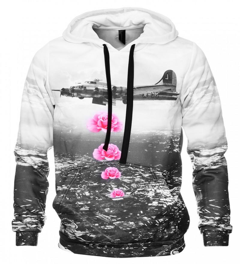 Bluza z nadrukiem Banksy