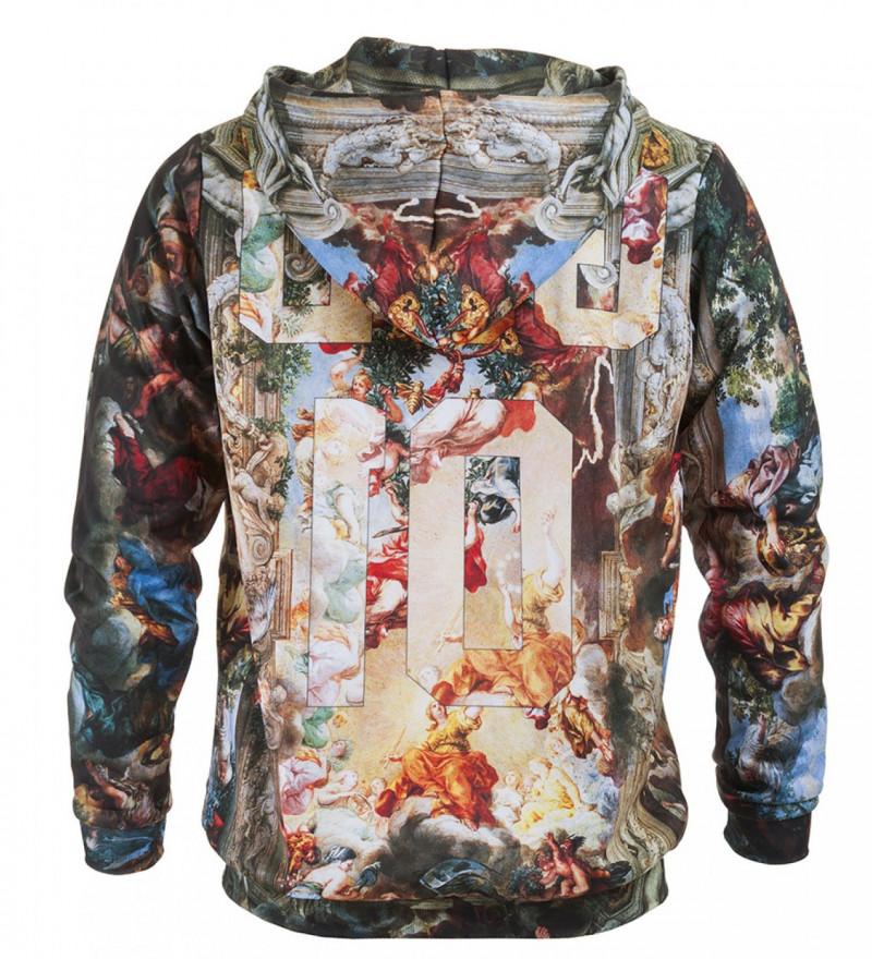 Printed hoodie God Team