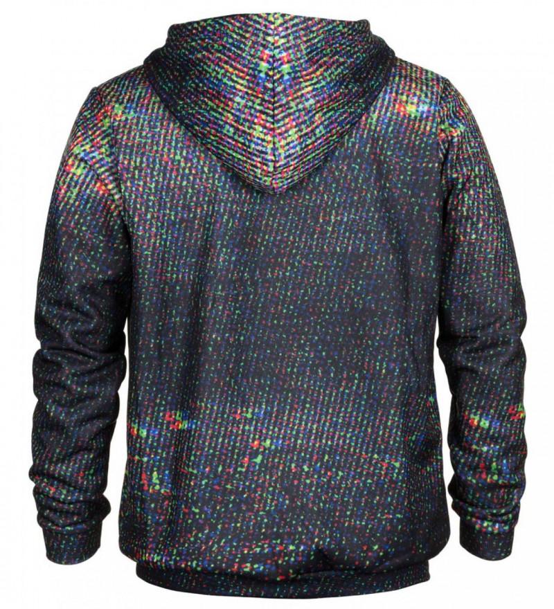Printed hoodie Techno Cat