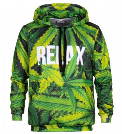 Bluse med hætte - Relax