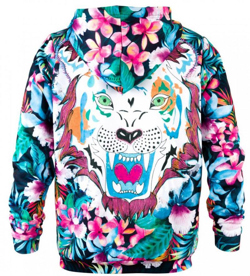 Bluza z nadrukiem Flower Tiger