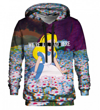 Printed hoodie Mad Alice
