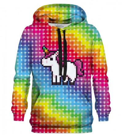 Bluza z nadrukiem Pixel Unicorn