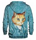 Printed hoodie Van Cat