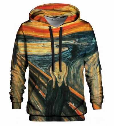 Printed hoodie The Scream