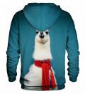 Printed hoodie Lama