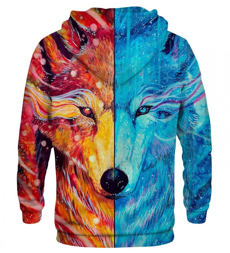 Bluza z nadrukiem Fire and Ice