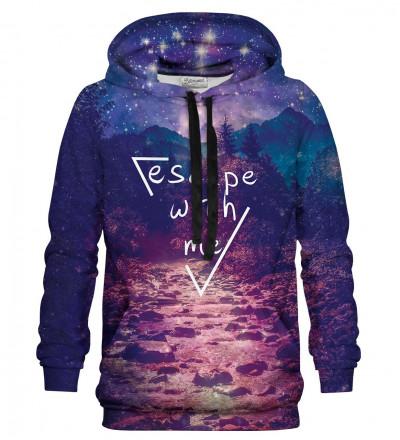 Printed hoodie Escape