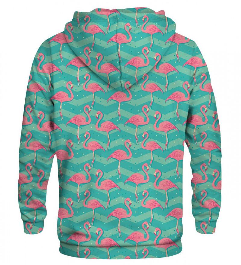 Printed hoodie Flamingos