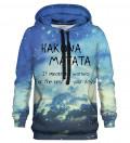 Bluza z kapturem Hakuna Matata