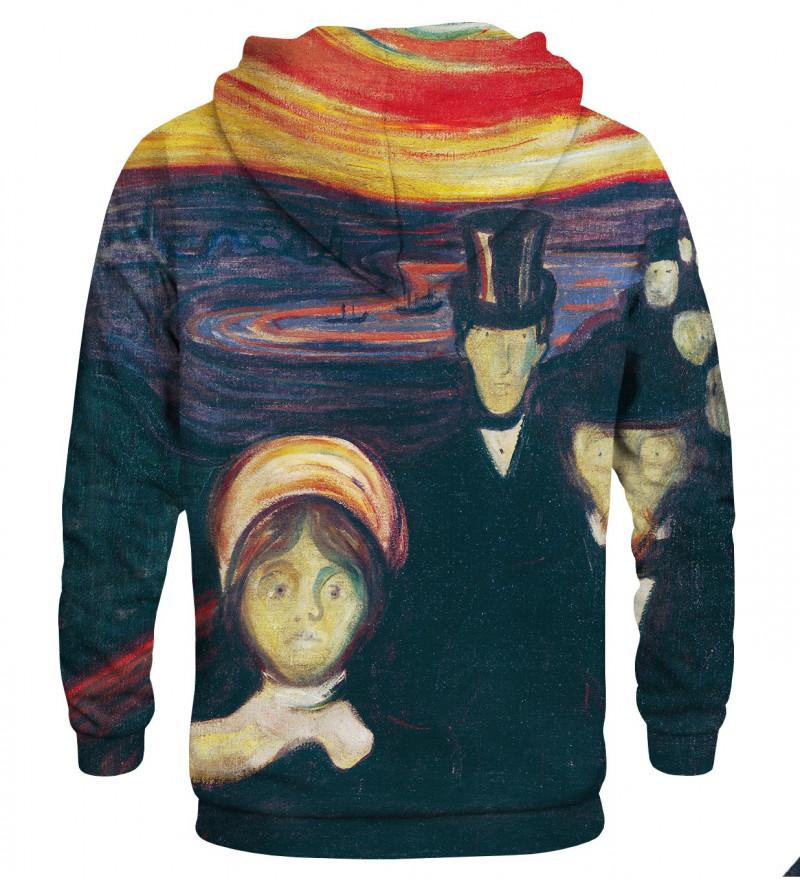 Printed hoodie Anxiety
