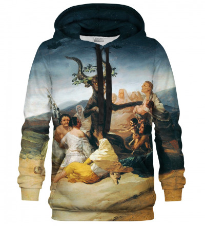 Printed hoodie Witches Sabbath