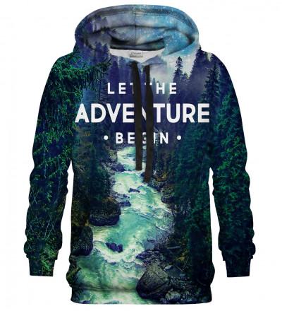 Printed hoodie Adventure