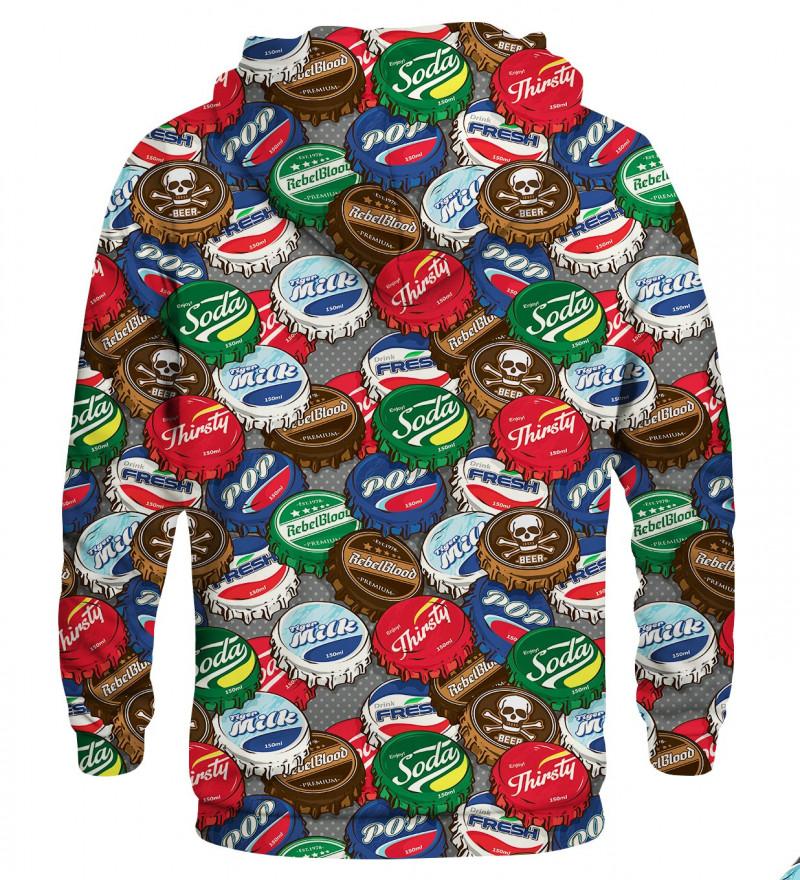 Printed hoodie Caps