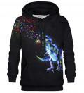 Printed hoodie Confetti Raptor