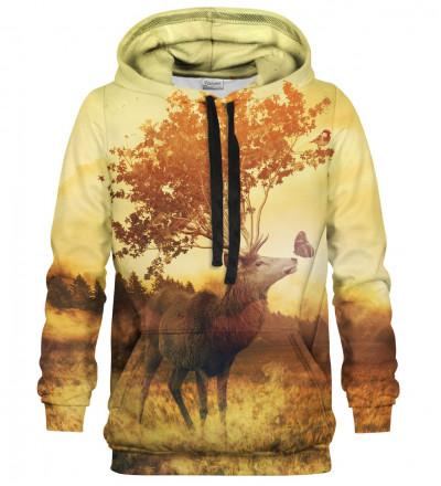 Printed hoodie Fantasy Deer