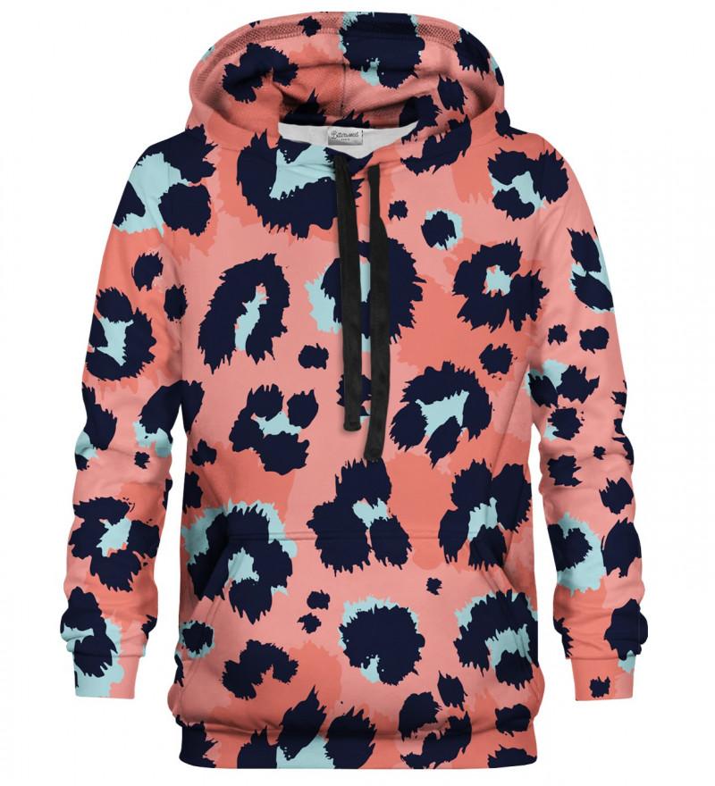 Printed hoodie Panther Skin