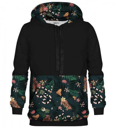 Printed hoodie In the Jungle