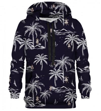 Printed hoodie Hawaii Palms