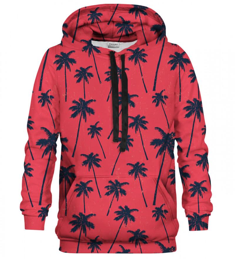 Bluza z nadrukiem Red Palms