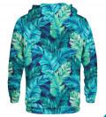 Printed hoodie Blue Paradise