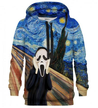 Printed hoodie Real Scream